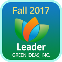 Badge 2017 Leader Green Ideas